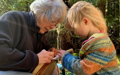 Make a Granddaughter drum